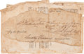 Autographs:U.S. Presidents, George Washington Excised Signature...