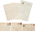 Autographs:U.S. Presidents, Grover Cleveland: Group of Three Autograph Letters Signed.... (Total: 6 Items)