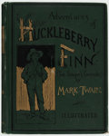 Books:Literature Pre-1900, Mark Twain. The Adventures of Huckleberry Finn (Tom Sawyer'sComrade). New York: Charles L. Webster and Company,...