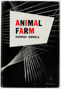 Books:Fiction, George Orwell. Animal Farm. New York: Harcourt, Brace andCompany, 1946. First edition....