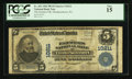 National Bank Notes:Pennsylvania, Thompsontown, PA - $5 1902 Plain Back Fr. 602 The Farmers NB Ch. #10211. ...