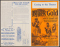 "Movie Posters:Black Films, Black Gold (Norman, 1928). Pressbook (4 Pages, 14"" X 22""). BlackFilms.. ..."