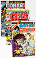 Bronze Age (1970-1979):Adventure, Conan the Barbarian Group (Marvel, 1974-81) Condition: Average NM-.... (Total: 53 Comic Books)