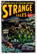 Golden Age (1938-1955):Horror, Strange Tales #27 (Atlas, 1954) Condition: VG+....