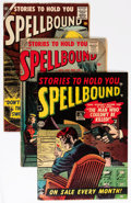 Golden Age (1938-1955):Horror, Spellbound #6 and 32-34 Group (Atlas, 1954-).... (Total: 4 ComicBooks)
