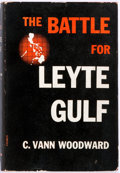 Books:Americana & American History, C. Vann Woodward. The Battle for Leyte Gulf. New York:Macmillan, 1947. First printing. Publisher's binding and dust...