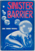 Books:Science Fiction & Fantasy, Eric Frank Russell. Sinister Barrier. Reading: Fantasy Press, 1948. First edition. Octavo. Publisher's binding and d...