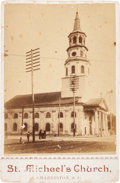 Photography:CDVs, Cabinet Card of St. Michael's Church....
