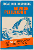 Books:Science Fiction & Fantasy, Edgar Rice Burroughs. Savage Pellucidar. New York: Canaveral Press, 1963. First edition. Posthumously published. Pu...