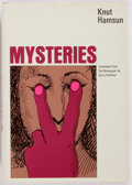 Books:Mystery & Detective Fiction, Knut Hamsun. Mysteries. New York: Farrar, Straus and Giroux,[1971]. First printing. Publisher's binding and dust ja...