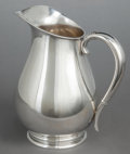 Silver Holloware, American:Pitchers, AN INTERNATIONAL SILVER CO. SILVER WATER PITCHER . InternationalSilver Co., Meriden, Connecticut, 20th century. Marks: IN...