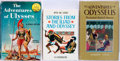 Books:Children's Books, [Homer's Odyssey]. Three Related Titles, including: AndrewLang. The Adventures of Odysseus. London: J.M. De... (Total:3 Items)