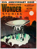 Books:Science Fiction & Fantasy, Philip K. Dick. Time Pawn. Contained in Thrilling Wonder Stories. Vol. XLIV, No. 1. New York: Standa...