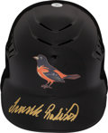 Baseball Collectibles:Hats, Frank Robinson Signed Baltimore Orioles Authentic Helmet....