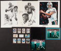 Football Collectibles:Photos, Dan Marino Signed Memorabilia Lot of 5....