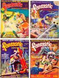 Pulps:Science Fiction, Fantastic Adventures Group (Ziff-Davis, 1939-40) Condition: AverageGD+.... (Total: 7 Comic Books)