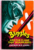 Books:Science Fiction & Fantasy, W. E. Johns. Biggles and the Plane That Disappeared. [London]: Hodder and Stoughton, [1963]. First edition, first pr...