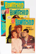 Silver Age (1956-1969):Humor, Bewitched Group - Savannah pedigree (Dell, 1965-67) Condition: Average VF.... (Total: 8 Comic Books)