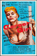 "Movie Posters:Sexploitation, Career Girl (Astor Pictures, 1960). One Sheet (27"" X 41""). Sexploitation.. ..."