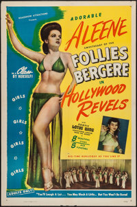 """Hollywood Revels (Roadshow Attractions, 1946). One Sheet (27"""" X 41""""). Sexploitation"""