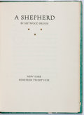 Books:Literature 1900-up, Heywood Broun. SIGNED/LIMITED. A Shepherd. New York:Privately printed, 1926. First edition, limited to 245 copies...