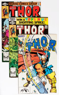 Modern Age (1980-Present):Superhero, Thor #300-400 Group (Marvel, 1980-89) Condition: Average NM-....(Total: 101 Comic Books)