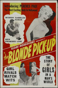 """Movie Posters:Crime, The Blonde Pick-Up (Globe Roadshows, 1951). One Sheet (27"""" X 41"""").Crime. Directed by Robert C. Dertano. Starring Peaches Pa..."""