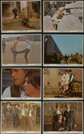 """Movie Posters:Western, Butch Cassidy and the Sundance Kid (20th Century Fox, 1969). LobbyCard Set of 8 (11"""" X 14""""). Western. Directed by George Ro...(Total: 8 Items)"""