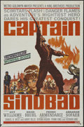 "Movie Posters:Fantasy, Captain Sindbad (MGM, 1963). One Sheet (27"" X 41""). Adventure.Directed by Byron Haskin. Starring Guy Williams, Heidi Bruhl,..."