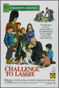 "Movie Posters:Children's, Challenge to Lassie (MGM, R-1973). One Sheet (27"" X 41""). Family Drama. Directed by Richard Thorpe. Starring Edmund Gwenn, D..."