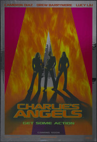 "Charlie's Angels (Columbia, 2000). One Sheet (27"" X 41"") Foil Advance. Action Comedy. Directed by McG. Starrin..."