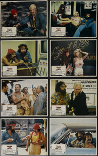 """Cheech and Chong's Up in Smoke (Paramount, 1978). Lobby Card Set of 8 (11"""" X 14""""). Comedy. Directed by Lou Adl..."""