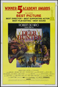 """Movie Posters:War, The Deer Hunter (Universal, 1978). One Sheet (27"""" X 41"""") Academy Awards. Drama. Directed by Michael Cimino. Starring Robert ..."""