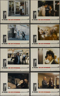 """Movie Posters:Action, Dog Day Afternoon (Warner Brothers, 1975). Lobby Card Set of 8 (11""""X 14""""). Crime. Directed by Sidney Lumet. Starring Al Pac... (Total:8 Items)"""