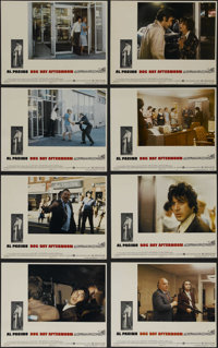 "Dog Day Afternoon (Warner Brothers, 1975). Lobby Card Set of 8 (11"" X 14""). Crime. Directed by Sidney Lumet. S..."