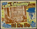 "Movie Posters:Musical, Hi De Ho (All-American, 1947). Lobby Card (3) (11"" X 14""). Musical.Directed by Josh Binney. Starring Cab Calloway and His C... (Total:3 Items)"