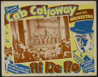 "Hi De Ho (All-American, 1947). Lobby Card (3) (11"" X 14""). Musical. Directed by Josh Binney. Starring Cab Call..."