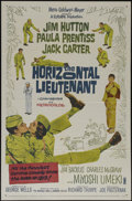"""Movie Posters:Comedy, The Horizontal Lieutenant (MGM, 1962). One Sheet (27"""" X 41""""). Comedy. Directed by Richard Thorpe. Starring Jim Hutton, Charl..."""