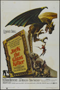 "Movie Posters:Fantasy, Jack the Giant Killer (United Artists, 1962). One Sheet (27"" X41""). Adventure. Directed by Rudolph Maté and Primo Zeglio. S..."