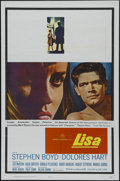 "Movie Posters:Thriller, Lisa (20th Century Fox, 1962). One Sheet (27"" X 41""). Thriller. Directed by Philip Dunne. Starring Stephen Boyd, Dolores Har..."