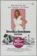 """Movie Posters:Romance, A Matter of Innocence (Universal, 1968). One Sheet (27"""" X 41""""). Comedy/Drama. Directed by Guy Green. Starring Hayley Mills, ..."""