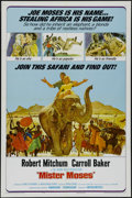 "Movie Posters:Adventure, Mister Moses (United Artists, 1965). One Sheet (27"" X 41"").Adventure. Directed by Ronald Neame. Starring Robert Mitchum, Ca..."
