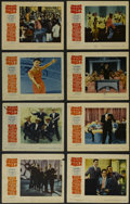 """Movie Posters:Musical, Mister Rock and Roll (Paramount, 1957). Lobby Card Set of 8 (11"""" X14""""). Musical. Directed by Charles S. Dubin. Starring Ala...(Total: 8 Items)"""