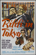 """Movie Posters:Crime, Rififi in Tokyo (MGM, 1963). One Sheet (27"""" X 41""""). Crime. Directed by Jacques Deray. Starring Carl Boehm, Keiko Kishi, Barb..."""