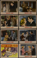 """Movie Posters:Crime, Rogue Cop (MGM, 1954). Lobby Card Set of 8 (11"""" X 14""""). Crime. Directed by Roy Rowland. Starring Robert Taylor, Janet Leigh,... (Total: 8 Items)"""