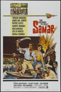 "Movie Posters:Adventure, Samar (Warner Brothers, 1962). One Sheet (27"" X 41""). Action.Directed by George Montgomery. Starring Montgomery, Gilbert Ro..."