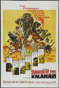 """Movie Posters:Adventure, Sands of the Kalahari (Paramount, 1965). One Sheet (27"""" X 41"""").Adventure. Directed by Cy Raker Endfield. Starring Stuart Wh..."""