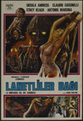"Movie Posters:Adventure, Slave of the Cannibal God (New Line, 1979). Turkish Poster (26.75""X 39.5""). Adventure. Directed by Sergio Martino. Starring..."