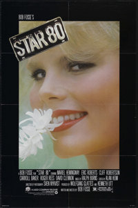 "Star 80 (Warner Brothers, 1983). One Sheet (27"" X 41""). Drama. Directed by Bob Fosse. Starring Mariel Hemingwa..."