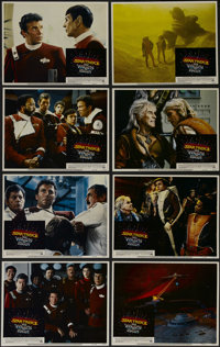 "Star Trek II: The Wrath of Khan (Paramount, 1982). Lobby Card Set of 8 (11"" X 14""). Sci-Fi. Directed by Nichol..."
